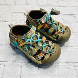 Keen Beeswax Print Newport Sandals Waterproof